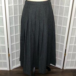 Pendleton Pure Virgin Wool Pleated Skirt Size 10